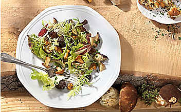 Pilzsalat