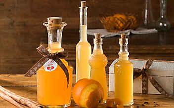 Würziges Orangenlikör