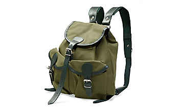Rucksack aus Segelleinen