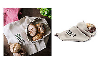 Brotsackerl aus reinem Leinen