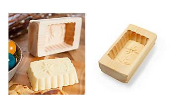 Buttermodel aus Zirbenholz
