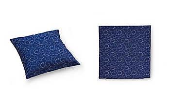 Blaudruck-Kissenhülle