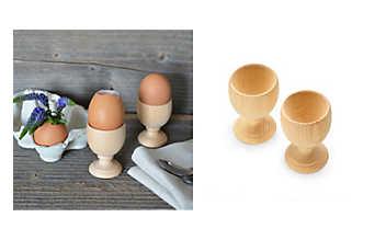 Zirbenholz-Eierbecher