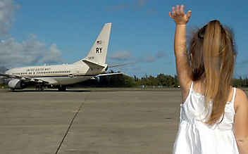 Eltern vergessen Fünfjährige am Flughafen