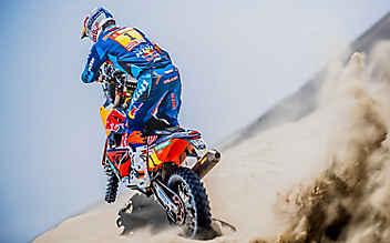 Walkner wird Zweiter bei Rallye Dakar