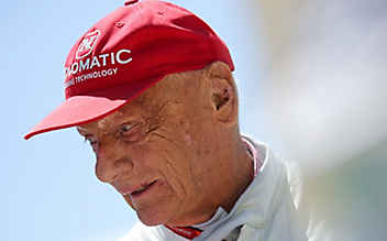 Niki Lauda wieder auf der Intensivstation