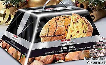 Metallteile im Kuchen: Spar ruft Panettone zurück