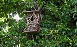 Inspiration für den Garten: Futterhäuschen und Insektenhotels