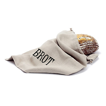 Brotsackerl aus Leinen