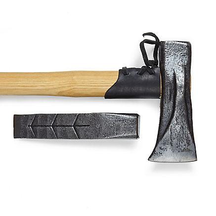 Spalthammer und Keil