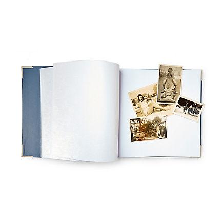Großes Fotoalbum mit Leinen