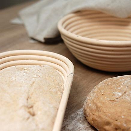 Handgefertigte Brotform lang