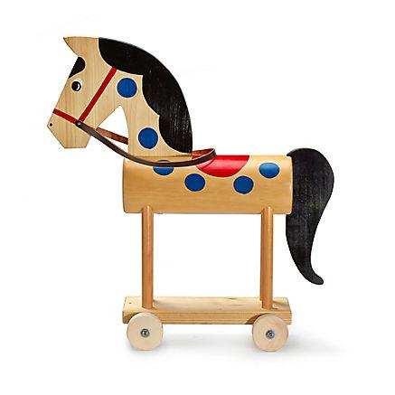 Spielzeug-Pferd aus Holz