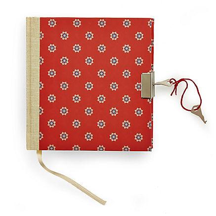 Handgearbeitetes Tagebuch