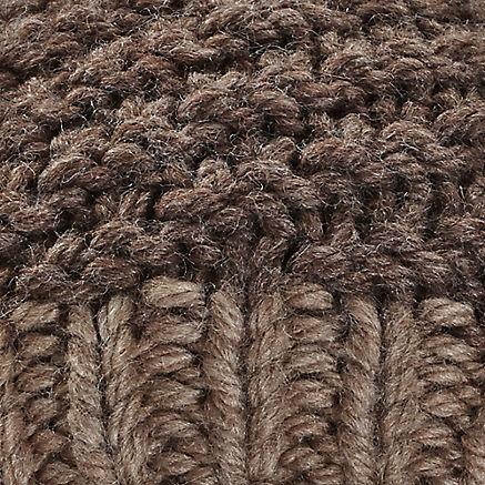 Handgestrickte Wollmütze