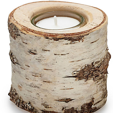 Südtiroler Holzkerzen