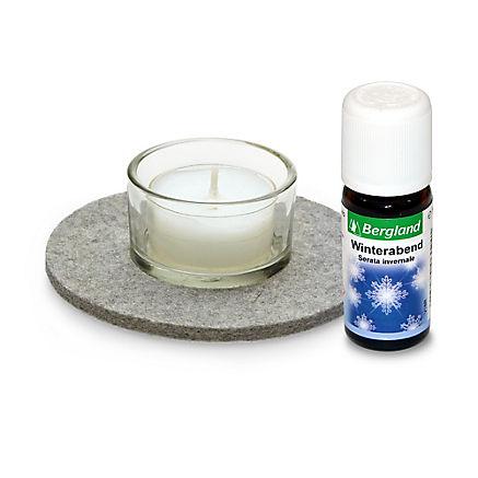 Kerze mit Winterabend-Duft