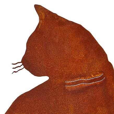 Gartenkatze Minka
