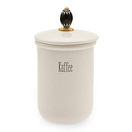 Kaffeedose aus Keramik
