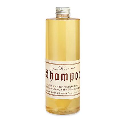 Kräftigendes Bier-Shampoo