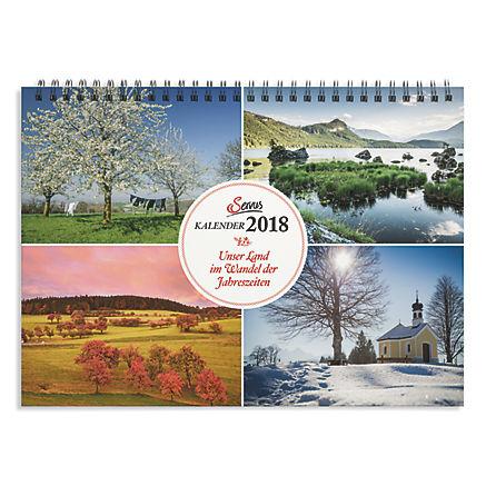 Kalender Jahreszeiten 2018