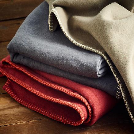 Flauschige Baumwolldecke