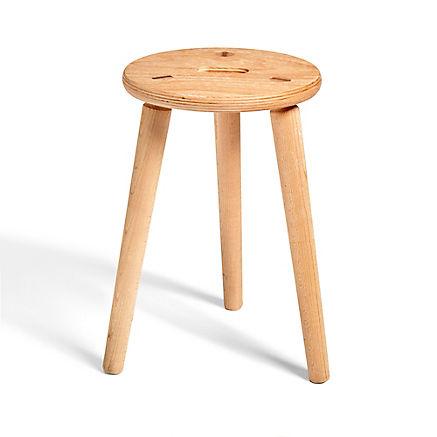 Hocker aus Buchenholz