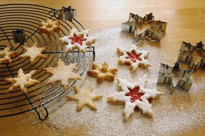 Keksausstecher Schneeflocken