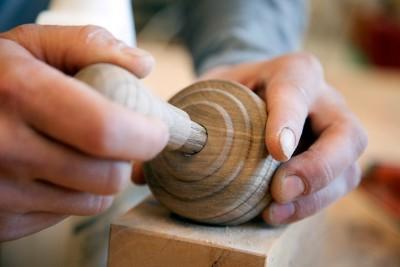 Brotstempel aus Eichenholz