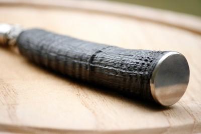 Jagdmesser mit Gamshorngriff