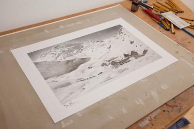 Kunstdruck Seekar