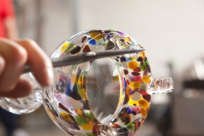 Glas-Wespenfalle