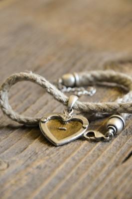 Trachtenkette mit Herz