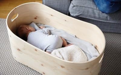 Zirbenbettchen fürs Baby