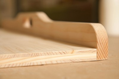 Nudelbrett aus Massivholz