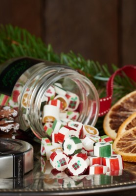 Fruchtige Weihnachtszuckerl