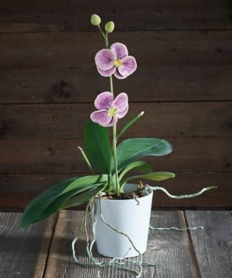Deko-Orchidee aus Keramik