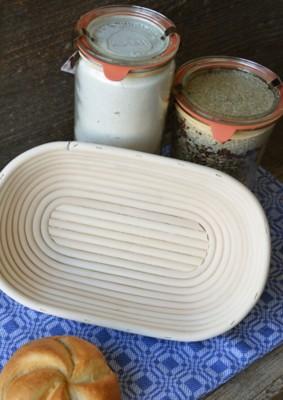 Ovale Brotform 0,5 kg
