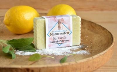 Salzseife Salbei-Zitrone