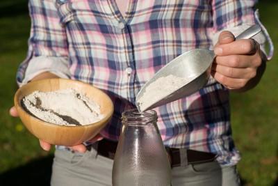 Backmischung buntes Weißbrot